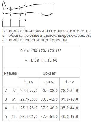 Гольфы 0401 с мыском профилактические
