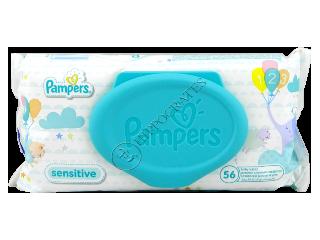 Памперс Baby Sensitive салфетки влажные детские № 56