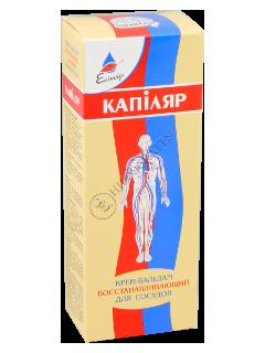 Эликсир Капиляр крем-бальзам регенерирующий крем для кровеносных сосудов с эфирными маслами