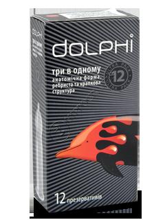 Prezervative Dolphi 3 in 1  № 12