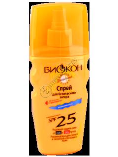 Biokon Protectia solara spray pentru bronz SPF-25