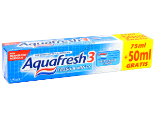 Pasta de dinti Aquafresh Fresh and Minty