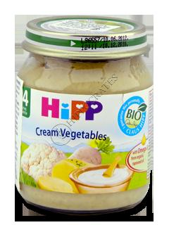 HIPP Piure de legume (4 luni)