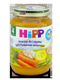HIPP Piure de legume, Amestec (4 luni)