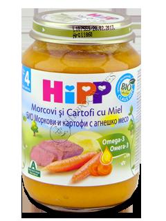 ХИПП Пюре Картофельное с морковью и бараниной (6 месяцев)
