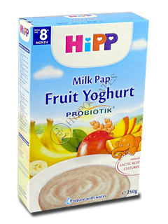 ХИПП Каша молочная с пребиотик. (фрукты с йогуртом) (8 месяцев)
