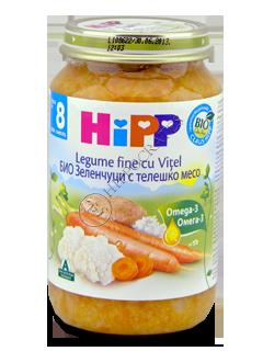 ХИПП Пюре Телятина с овощами (8 месяцев)