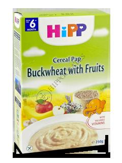 ХИПП Каша гречневая с фруктами (6 месяцев)