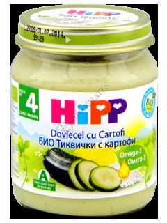 ХИПП Пюре овощное Цукини с картофелем (5 месяцев)