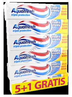 Зубная паста Аквафреш FreshMinty 5+1