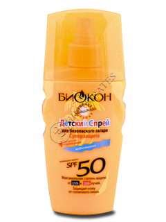 Биокон Солнцезащит.серия спрей детский для загара SPF-50