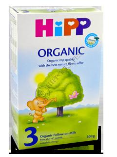 ХИПП 3 Органик молоко (10 месяцев)