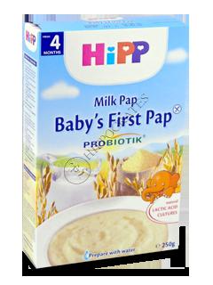 ХИПП Каша молочная с пребиотик.(кукуруза,рис,ваниль) (4 месяца)