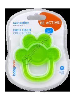 БЕБИ ОНО прорезватель для зубов гелевый Цветок