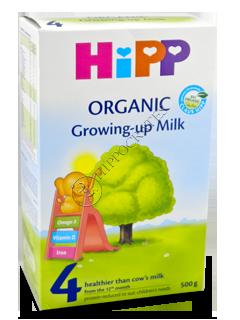 ХИПП 4 Органик молоко (12 месяцев)