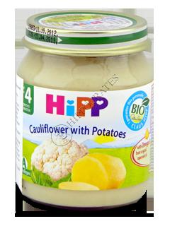ХИПП Пюре Цветная капуста с картофелем (4 месяца)