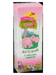 Эликсир крем-бальзам детский с маслом карите