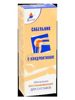 Эликсир Сабельник  с Хондроитином крем-бальзам восстанавливающий
