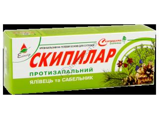 Эликсир Скипилар крем-гель противовоспалительный с можжевельником и сабельником