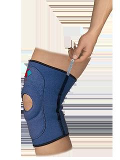 Bandaj 9903-01 din neopren fixare genunchi