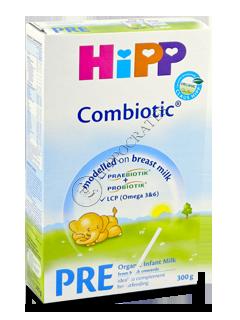 ХИПП пре-ХИПП комбиотик молоко