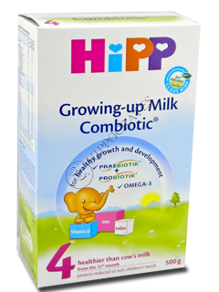 ХИПП 4 Комбиотик молоко (12 месяцев)