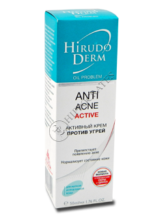 Biokon Hirudo Derm Oil Problem ANTI-ACNE ACTIVE crema antiacnee