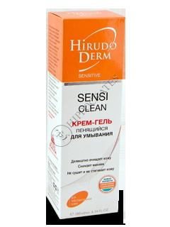 Биокон Гирудо Дерм Sensitive SENSI CLEAN крем-гель для умывания пенящийся