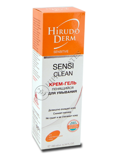 Biokon Hirudo Derm Sensitive SENSI CLEAN crema-gel p/u spalarea fetei spumanta