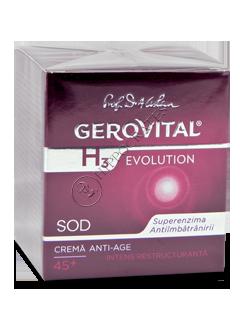 Gerovital H3 Evolution crema anti-age intens restructuranta de noapte (45+)