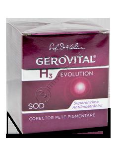 Gerovital H3 Evolution corector pete pigmentare (45+)