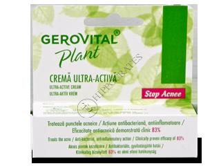 Gerovital Plant Stop Acnee crema ultra-activa