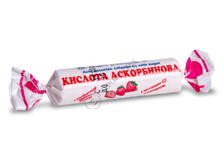 Аскорбиновая кислота (витамин С) клубника