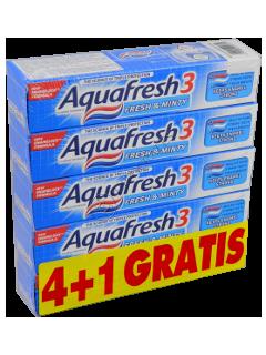 Зубная паста Аквафреш Fresh and Minty 4+1