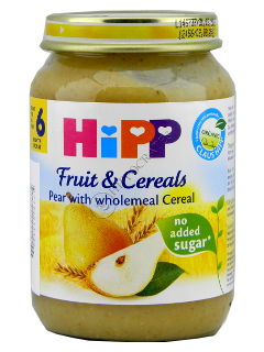 ХИПП Пюре Груша и овсяные зерна (4 месяца)