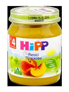 ХИПП Пюре фруктовое Персик (4 месяца)