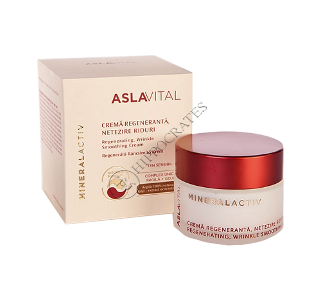 Aslavital Mineralactiv crema regeneranta netezire riduri (de noapte)