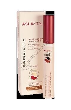 Aslavital Mineralactiv crema antirid contur ochi