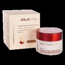 Aslavital Mineralactiv crema intens hidratanta SPF 15