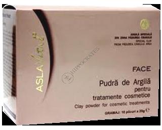 Aslavital pudra de argila pentru tratamente cosmetice