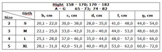 Рукав компрес. 0403-02 LUX (23-32 мм) размер XXL беж. с плечом и полуперчаткой