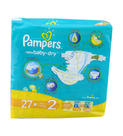 Pampers Mini 2 № 27  3-6 kg