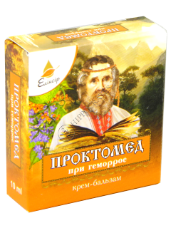 Эликсир Проктомед крем-бальзам при геморрое