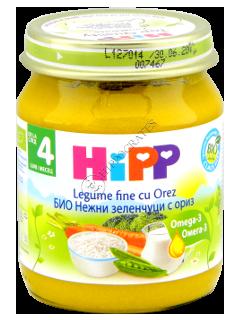 ХИПП Пюре овощное с рисом