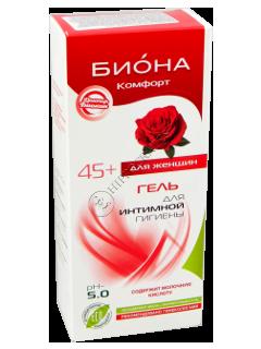 Биокон Доктор Биокон гель интимный БИОНА-КОМФОРТ (45 лет+) pH 5.0
