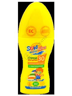 Биокон SPF 30+ SUN Marina Kids Спрей детский для загара