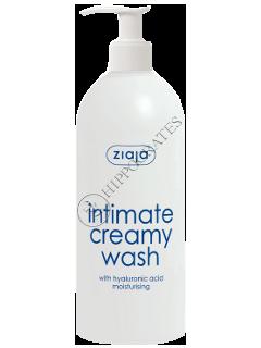 Зиажа Интим крем-мыло с гиалуроновой кислотой с дозатором 500мл