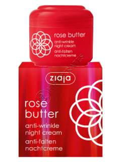 Ziaja Rose butter Crema de noapte antirid (30+)