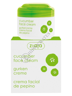 Зиажа Cucumber крем для лица для жирной и комбинированой кожи