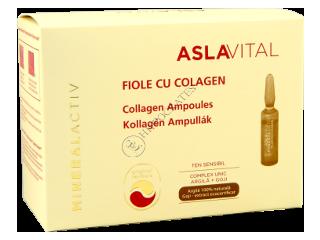 Aslavital Mineralactiv fiole cu colagen